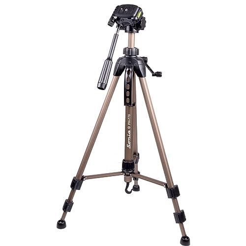 Sonia PH 770 Tripod with Bag for Digital SLR & Video Cameras (Load Capacity 3500 Grams)