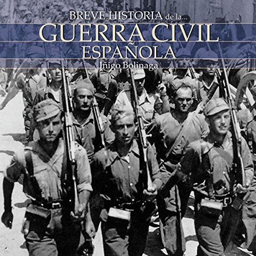 Breve historia de la Guerra Civil Española audiobook cover art