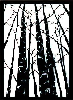WALLCENTRE ART BEYOND IMAGINATION Metal Tree Design Wall Art - Hanging Showpiece for Living Room, Decorative Walls (Black,...