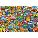 Buffalo Games National Park Patches 2000 Pieces Jigsaw Puzzle