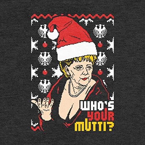 Weihnachtspullover mit Angie