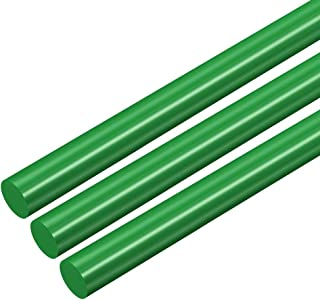 uxcell Plastic Round Rod,1//2 inch Diameter 20 inch Length,Brown Phenolic Round Bar PF Engineering Plastic Rod 2pcs