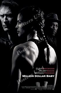 Posters USA Million Dollar Baby Movie Poster GLOSSY FINISH - MOV132 (24