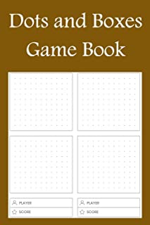Dots and Boxes Game Book: Paper and Pencil games for kids and adults