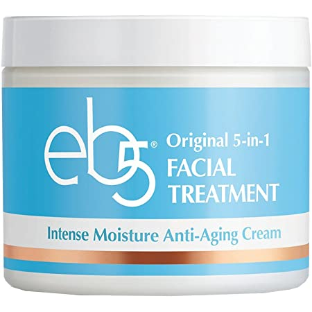 eb5 Intense Moisture Anti-Aging Face Cream, Daily Face Moisturizer with Retinol, Reduces Wrinkles, Tones & Tightens Face and Neck, 4 Ounces