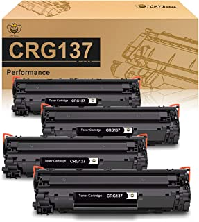 CMYBabee Compatible Toner Cartridge Replacement for Canon 137 CRG137 9435B001AA ImageClass LBP151dw D570 MF212w MF216n MF217w MF227dw MF229dw MF232w MF236n MF244dw MF247dw mf249dw (Black,4-Pack)