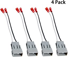 HSTECH 72-7800 2 Pairs (4 Pack) Car Speaker Connector Harnesses for with 1990-Up Honda and Acura Vehicles