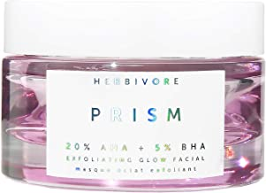 product image for Herbivore - Natural Prism AHA + 5% BHA Exfoliating Glow Facial | Truly Natural, Clean Beauty