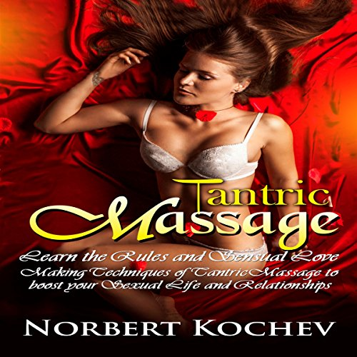 Tantric Massage audiobook cover art