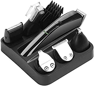 Detailed Professional Hair Clippers Cordless Haircut Hair Trimmer Adult Hair Cutting Machine Rechargeable Electric Shaver Professional Men's Shaver Model 6 Shaving USB Rechargeable Shaver EAS. Durab