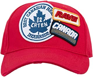 DSQUARED2 BCM0219 Cappello Uomo Men's Baseball cap