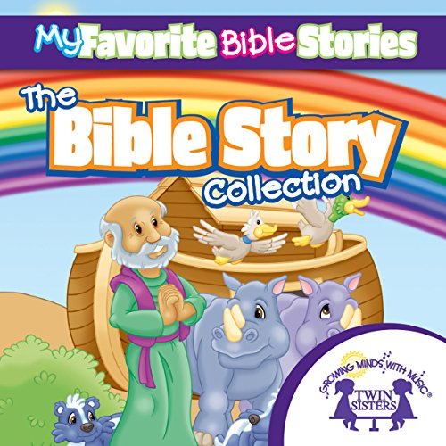 My Favorite Bible Stories: The Ultimate Bible Stories Collection audiobook cover art