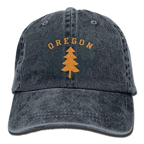 wwoman Oregon Douglas Pine Tree Cotton verstellbare Cowboy Cap Trucker Cap für Mann und Frau