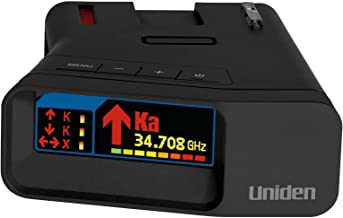 Uniden R7 Extreme Long Range Laser/Radar Detector, Built-in GPS w/Real-Time Alerts, Dual-Antennas Front & Rear w/Direction...
