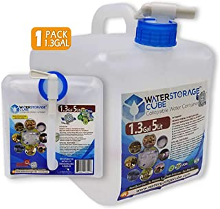 emergency water storage 55 gallon
