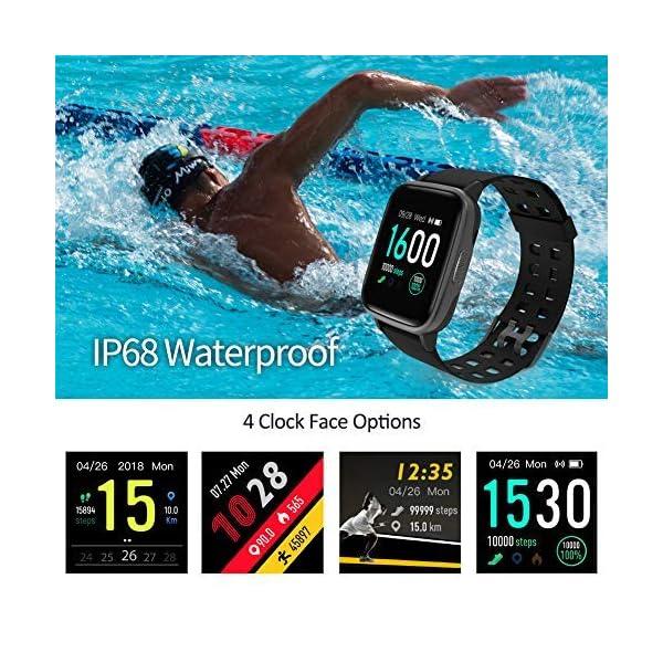 Reloj Inteligentes, YAGALA IP68 Smartwatch, Pulsera Deportiva Inteligente Para Niños y Niñas, Con Contador De Calorías… 7