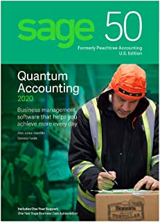 Sage Software 50 Quantum Accounting 2020 U.S. 1-User