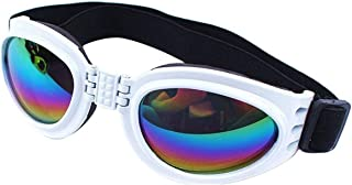 BCGI Dog Sunglasses Dog Goggles Eye Wear Protection Waterproof Pet Goggles Glasses for Puppy Dogs