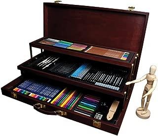 Royal & Langnickel RSET-ART8100 - Maletín con material para dibujo (134 piezas), multicolor