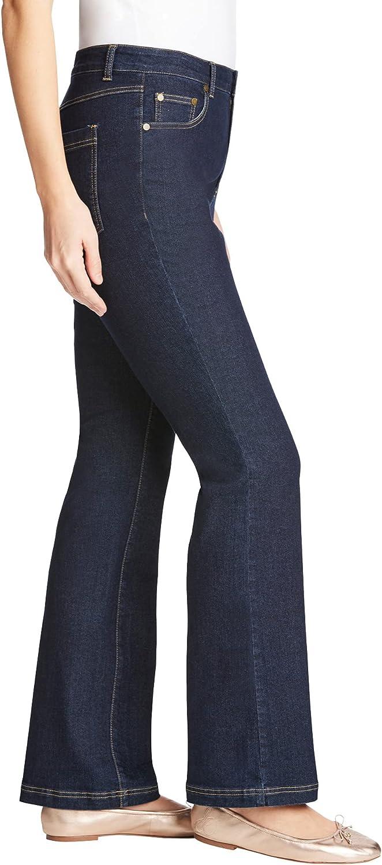 Woman Within Women's Plus Size Petite Bootcut Stretch Jean