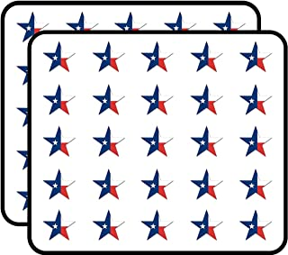 Star Shaped Texas Flag (tx Lone) Sticker for Scrapbooking, Calendars, Arts, Kids DIY Crafts, Album, Bullet Journals