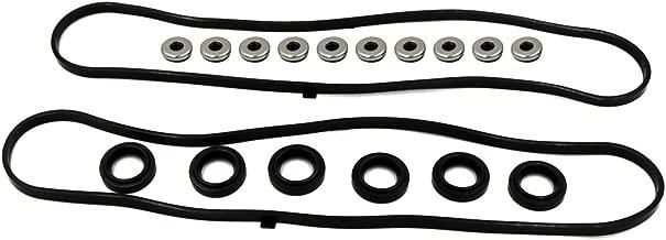 Valve Cover Gasket Set fits for 1997 1998 1999 2001 2002 2003 Acura CL, 2003-2004 Honda Odyssey, 2003-2004 Honda Pilot, 1999-2003 Acura TL, 2001-2002 Acura MDX, 1998-2002 Honda Accord 3.0L 3.2L 3.5L V