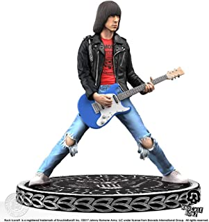 Knucklebonz Johnny Ramone Limited Edition Collectible Statue - Rock Iconz, Officially Licensed, Includes CoA