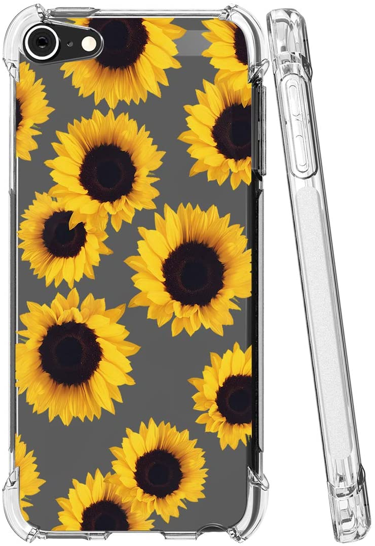 iPod Touch 7 outlet Case Memphis Mall 6 Sidande Shockproof Flowers with