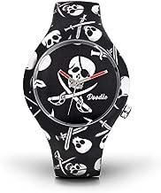 Horloge doodskop Doodle Watch Unisex Skull Mood...