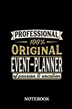 Professional Original Event-Planner Notebook of Passion and Vocation: 6x9 inches - 110 lined pages • Perfect Office Job Utility • Gift, Present Idea