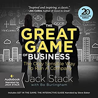 The Great Game of Business, Expanded and Updated cover art