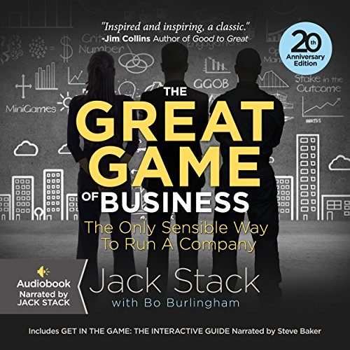 The Great Game of Business, Expanded and Updated audiobook cover art