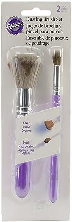 Wilton 5-Piece Decorating Brush Set 0 2-Pc. Purple
