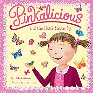 Pinkalicious and the Little Butterfly audiobook cover art
