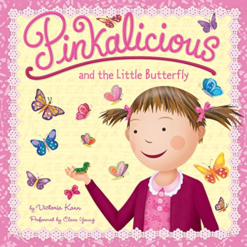 Pinkalicious and the Little Butterfly cover art