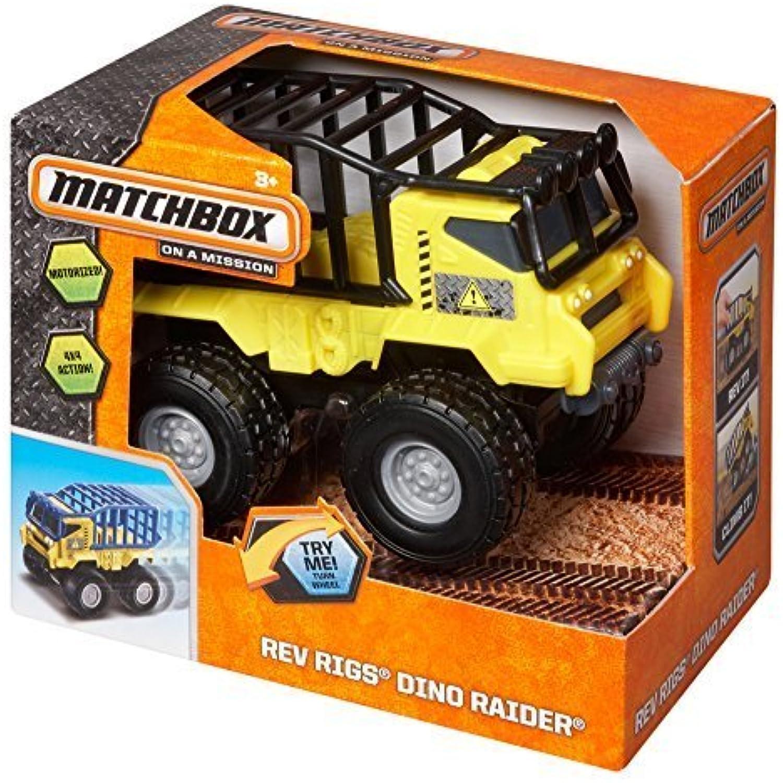 Matchbox Rev Rigs Dino Raider Vehicle by Matchbox