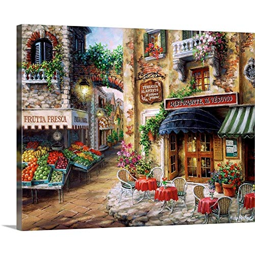 "BUON Appetito Canvas Wall Art Print, 30""x24""x1.25"""
