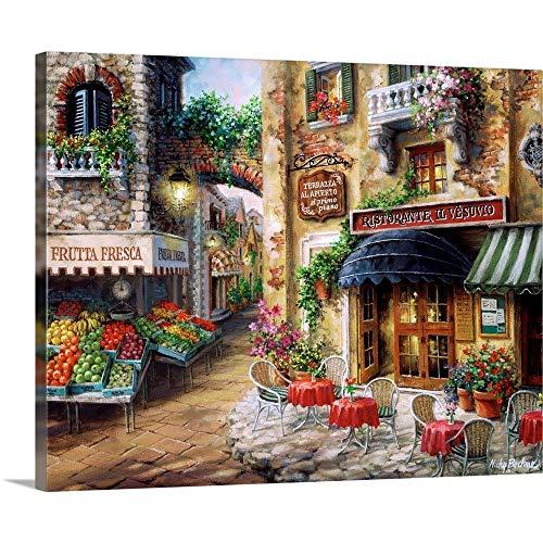 "BUON Appetito Canvas Wall Art Print, 30""x24""x1.25"""