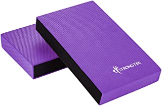 Balance Pad, Balancing Foam Pad, Large 2 in 1 Yoga Foam Cushion Exercise Mat, Knee Pad for Fitness and Stability, Stretching, Pilates, Physical Therapy, Core Trainer Board