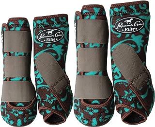 Professionals Choice Equine Sports Medicine Ventech Elite Leg Boot Value Pack, Set of 4