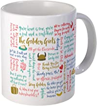 CafePress Golden Girls Quotes Mugs Unique Coffee Mug, Coffee Cup