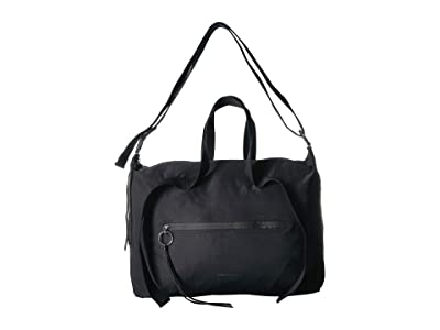 Rebecca Minkoff Nylon Zip Weekender (Black) Duffel Bags