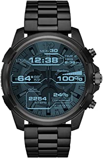 DIESEL Men's DZT2007 Year-Round Smart Digital Black Band Watch