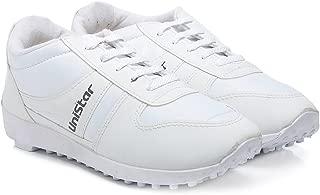 Unistar Men's Black Narrow Toe Running Shoe