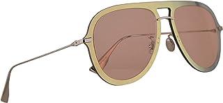 d5ae115899 Christian Dior DiorUltime1 Gafas De Sol Dorado Y Rojo Con Lentes Coral 57mm  XWLJW Diorultime 1
