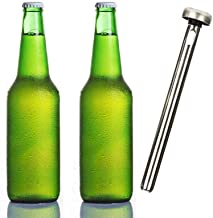ISHOWTIENDA 2018 High Quality Useful Beer Bottle Cooler, Beer Chiller Sticks, Stainless Steel Chilling Sticks, Best B Gift : United States