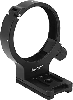 Haoge LMR-C347 Lens Collar Replacement Foot Tripod Mount Ring A II for Canon EF 300mm f/4L USM, EF 400mm f/5.6L USM, EF 70-200mm f/4L USM, EF 70-200mm f/4L is USM Lens Built-in Arca Type Plate