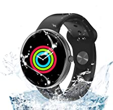 AllCall Smart Watches,IP68 Waterproof Smart Watch Bluetooth for Women Men Kids Compatible Android iOS,Fitness Activity Tracker with Heart Rate Monitor & Blood Pressure Monitor New Model
