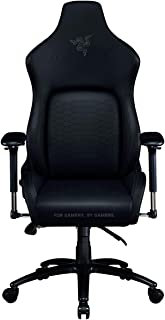 Razer Iskur Black - Ergonomic Gaming Chair with Built-in Lumbar Support - Black Edition
