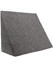 XL Almohada de cuña para sala de estar y dormitorio, cojín de lectura, almohada de relajación, respaldo flexible, cojines de embarazo, almohadas de lactancia//para tumbarse y sentarse